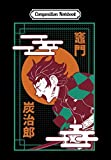 Composition Notebook: Kimetsu no yaiba demon slayer, Journal 6 x 9, 100 Page Blank Lined Paperback Journal/Notebook