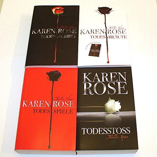 Karen Rose - Vartanian-Trilogie 1-3 komplett (Todesschrei - Todesbräute - Todesspiele) + Todesstoss