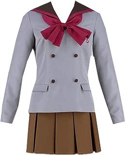 LVCOS Sailor Moon Crystal Sailor Mars Halloween Cosplay Costume Hino Rei School Uniform Halloween