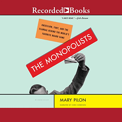 The Monopolists audiobook cover art