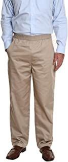 mens elastic waist putter pants