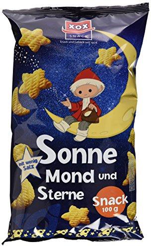 XOX Sandmännchen Sonne, Mond & Sterne 100g, 12er Pack (12 x 100 g)