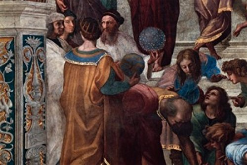 The School of Athens (Detail) c 150911 Fresco Raphael (1483-1520Italian) Vatican Museums and Galleries Rome Poster Print (18 x 24)