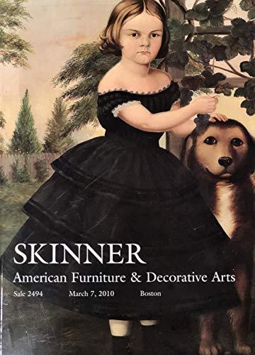 Skinner: American Furniture and Decorative Arts. Boston, March 7, 2010, Sale 2494