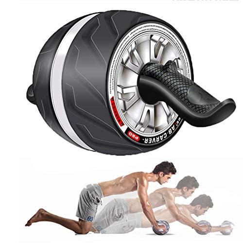 GIYL AB Roller Perfekte Fitness Roller Workout-Maschine Kern Abs Trainer Cruncher Stabile Ab Core-Trainer Maschine für Gym oder Home Use,Grau