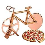 SUNSK Cortador de Pizza de Bicicleta Cortapizzas Rueda de Corte de Acero Inoxidable Cortador de Masa y Pizza Cutter Wheel Creative Kitchen Tools