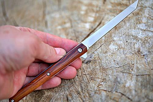 DELLINGER Nadel M390 PULVERSTAHL Taschenmesser & Klappmesser & Pulverstahlmesser & Outdoor Pulverstahlmesser Folder Knife 9 cm Klinge