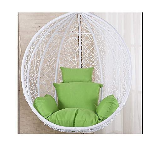 Cama Acolchada Gruesa Reclinable Silla Relajante Asiento Cove Cojines para sillas Colgantes, Cojín para sillas Columpios, Nido Grueso Colgante de una Sola Cesta Cojines para sillas