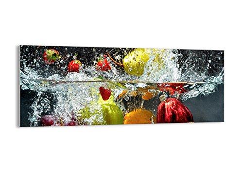 Cuadro sobre Vidrio - Cuadro de Cristal - de una Sola Pieza - 100x40cm - Foto número 2972 - Listo para Colgar - Pinturas en Vidrio - Impresiones sobre Vidrio - Cuadro en Vidrio - GAB100x40-2972