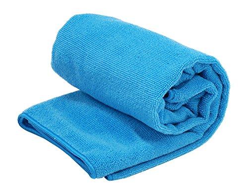Rockland Schnelltrocknendes Handtuch Frotte, Blau, 100X50 cm, 5902768775297