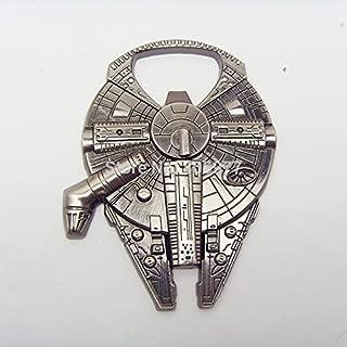 Star Wars Millenium Falcon Metal Bottle Opener Zinc Alloy - Non-magnetic Opener 2.4