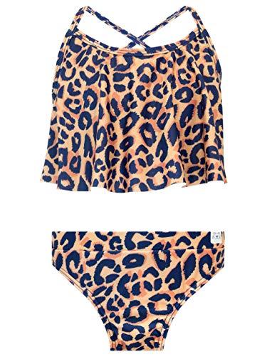 Harry Bear Mädchen Leopardenmuster Badeanzug Braun 134