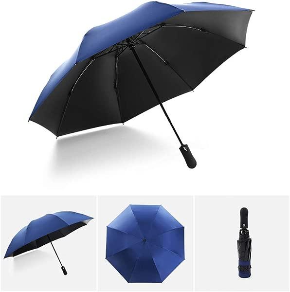 CapsA Compact Travel Umbrella Inverted Reverse Sun Rain Car Umbrella Windproof Reinforced Canopy Ergonomic Handle Auto Open Close Multiple Colors
