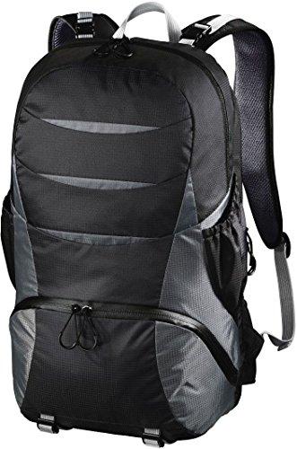 Hama Kamerarucksack für DSLR Kamera und Ausrüstung (Outdoor Fotorucksack, 16 L, Kamerafach herausnehmbar, Tablet-/Notebookfach, Regenschutz, Stativhalterung, handgepäcktauglich) Kameratasche schwarz