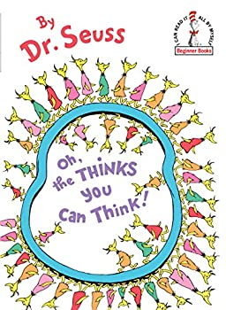 Hardcover Oh, the Thinks You Can Think [Large Print] Book