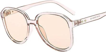 UV400 Shade Fashion Ronde Zonnebril Vrouwen Vrouwelijke Eyewear Plastic Bril Frame Clear Lens