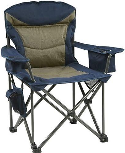 LOO LA Extérieur Pliant Camping Chaise-Chaise de pêche en Tissu Oxford, Randonneur à l'extérieur, Camp, Plage, Support jusqu'à 220kg