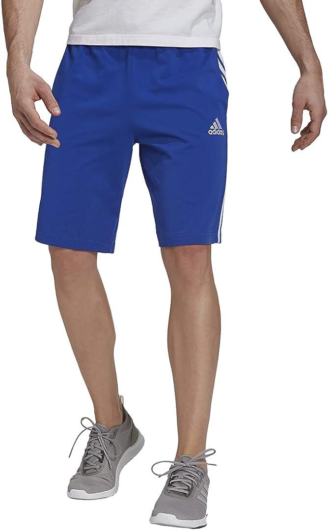 adidas Men's Essentials Tampa Mall Popularity 3-Stripes Shorts