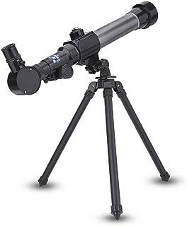 Gedourain Télescope astronomique pour Enfants, Mini télescope astronomique léger pour Un Bon Cadeau aux Enfants pour l'édu...