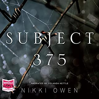 Subject 375 audiobook cover art