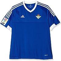 2ª Equipación Real Betis Balompie 2015/2016 - Camiseta oficial adidas para hombre, color azul / blanco (azufue/blanco), talla 2XL