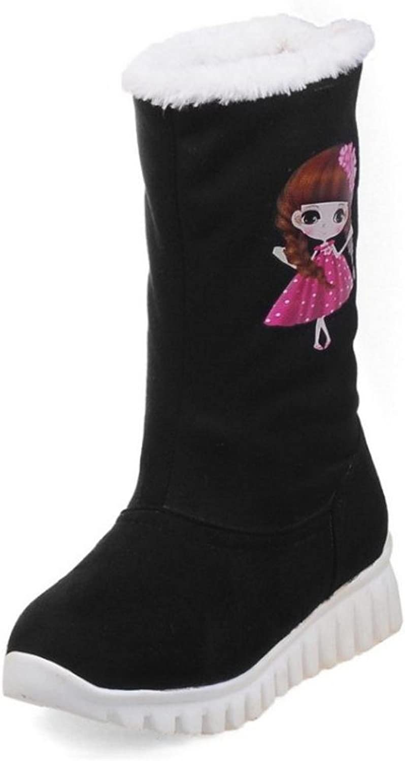 RizaBina Women Boots Pull On Thick Sole