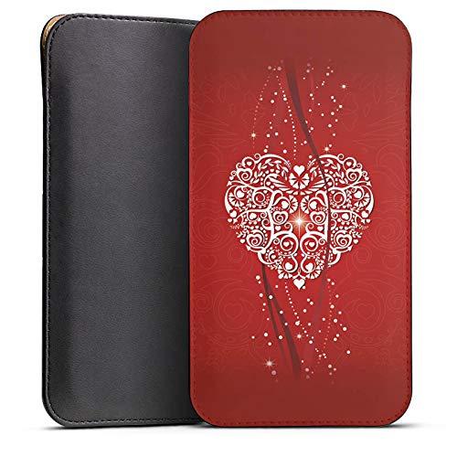 DeinDesign Cover kompatibel mit Wiko Highway Pure Hülle Tasche Sleeve Socke Schutzhülle Liebe Amour Love