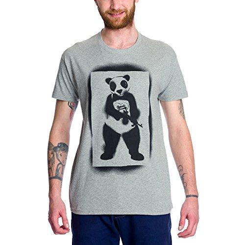 Escuadrón Suicida camiseta Panda Man de la banda del Joker Elbenwald gris - S