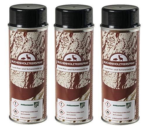 Fritzmann 3X Buchenholzteer 500 ml Spraydose