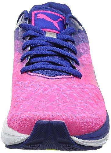 Puma Speed 300 Ignite Wn, Zapatillas de Running para Mujer, Rosa (Knockout Pink-True Blue White 07), 40 EU