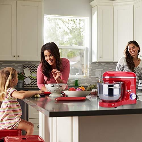 Arebos Küchenmaschine rot - 2