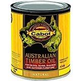 Cabot 140-3400 QT 1 Quart Natural Australian Timber Oil For Outdoors