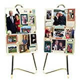 Memory Board Photo Collage Kit - 8 Pages of Stickers and Embellishments for Memorials, Funerals or Celebration of Life