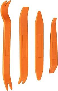 Universal Outil D/émontage Installation Audio Garniture Int/érieure Orange FULARR 4Pcs Professionnel Voiture D/émontage Installation Outil Kit