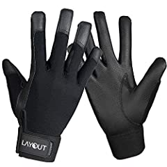 Balanced all-weather control for handling and catching: rain, shine, snow, sleet, the 'Ultimate Grip' for any weather condition! Synthetic leather palm for durability against turf, grass, mud & more, extremely durable grip that will not rip! The Flic...
