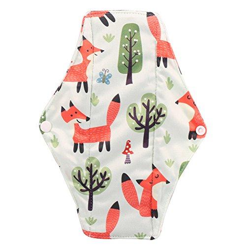 6 Kleuren Menstrual Panty Pad, Herbruikbare Houtskool Bamboe Doek Menstrual Pads, Wasbaar Sanitaire Handdoek Panty 5#