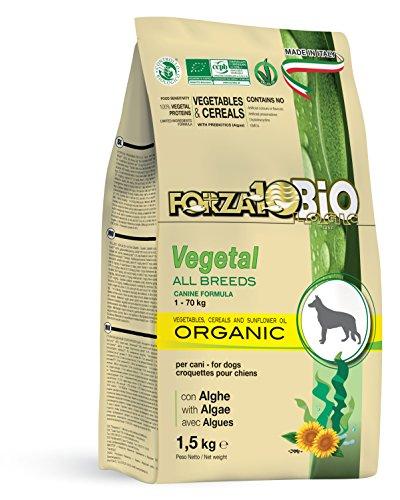 Forza10 Vegan Trockenfutter für Hunden, 1er Pack (1 x 1.5 kg)