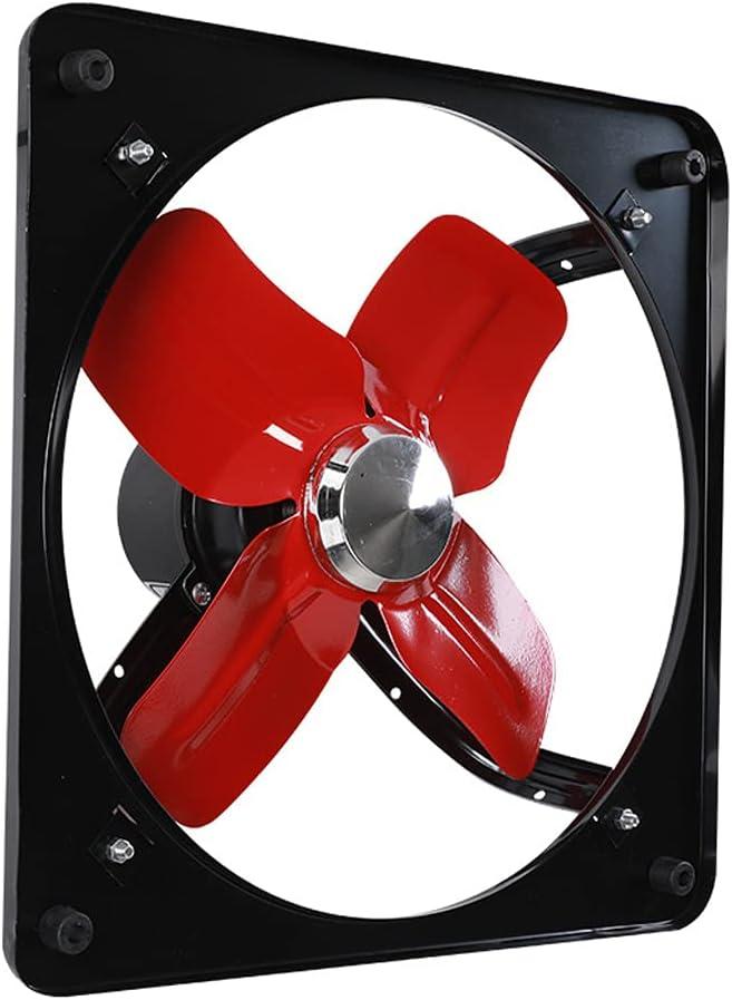 Extractor De Ventilación Industrial Ventilador De Escape Montado En La Pared Ventilación De Aire Comercial Ventilación para Baño Cocina Garaje Granero
