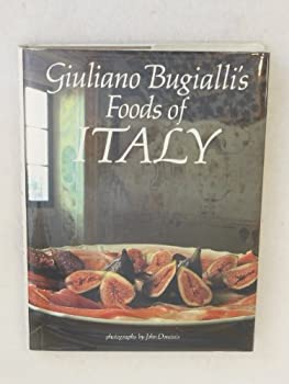 Giuliano Bugialli's Foods of Italy 0941434524 Book Cover