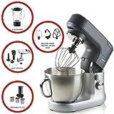 Küchenmaschine Komplettset mit 4,5Liter Edelstahl-Rührschale, Profi-Knetmaschine für Ihre Küche