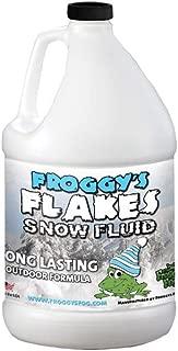 Froggys Flakes - 1 Gal - Long Lasting Snow Machine Fluid - Blizzard Formula
