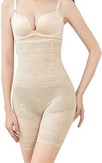 Women's Shapewear Thigh Slimmer Hi-Waist Lace Tummy Control Body Shaper Smooth Slip Short Butt Lifter Panties