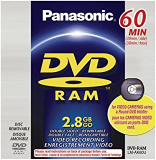 PANASONIC LM-AK60U 2.8GB DVD-R Disc for DVD Camcorder - Single (Discontinued by Manufacturer)