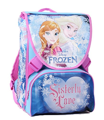 Seven Frozen 2B5001604-512 Zaino da Scuola Sdoppiabile, Estensibile, Poliestere, Multicolore