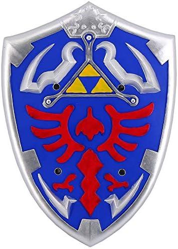 Legend of Zelda Breath of Wild Link Cosplay Shield Foam Prop Blue product image