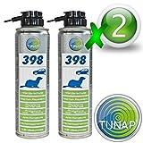 Tunap 398 - Repelente adhesivo anti roedores, resistente al agua, 2 unidades