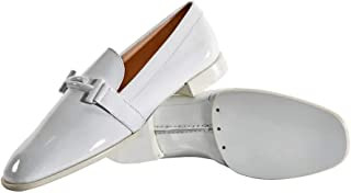 Womens Double T Loafers in White