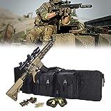 Eortzzpc Shotgun Rifles Gun Airsoft Case Bag, Mochila Táctica De Caza para Rifle, Impermeable, a Prueba De Golpes Y Estable, Ideal para Cazar, Disparar, Acampar (Size : 118x31CM/46x12in)