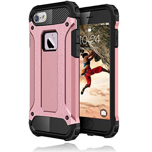 BYONDCASE iPhone 6s Hülle Rosa, iPhone 6 Hülle [Handyhülle iPhone 6s Panzer Outdoor Case] Handyhülle iPhone 6 Hardcase Ultra Slim kompatibel mit dem iPhone 6s & 6 Case