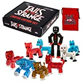 Zing Stikbots Tails of The Strange, Complete Set of 9 Limited Edition Stikbot Poseable Action Figures and Carrying Pouch, Create Stop Motion Animation